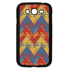 Aztec South American Pattern Zig Zag Samsung Galaxy Grand Duos I9082 Case (black)