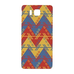 Aztec South American Pattern Zig Zag Samsung Galaxy Alpha Hardshell Back Case by Nexatart