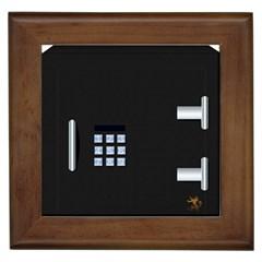 Safe Vault Strong Box Lock Safety Framed Tiles