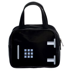 Safe Vault Strong Box Lock Safety Classic Handbags (2 Sides) by Nexatart