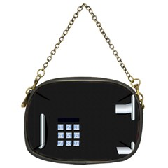 Safe Vault Strong Box Lock Safety Chain Purses (two Sides)  by Nexatart