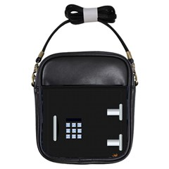 Safe Vault Strong Box Lock Safety Girls Sling Bags by Nexatart