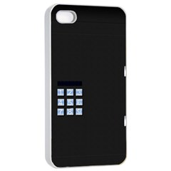 Safe Vault Strong Box Lock Safety Apple Iphone 4/4s Seamless Case (white)