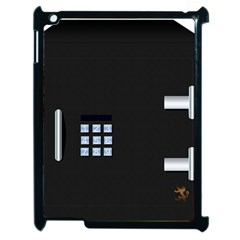 Safe Vault Strong Box Lock Safety Apple Ipad 2 Case (black) by Nexatart