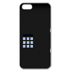 Safe Vault Strong Box Lock Safety Apple Seamless Iphone 5 Case (clear) by Nexatart