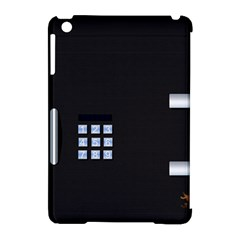 Safe Vault Strong Box Lock Safety Apple Ipad Mini Hardshell Case (compatible With Smart Cover) by Nexatart