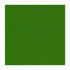 Paper Pattern Green Scrapbooking Medium Glasses Cloth (2 Side)