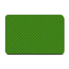 Paper Pattern Green Scrapbooking Small Doormat