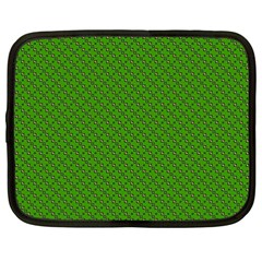 Paper Pattern Green Scrapbooking Netbook Case (xxl)