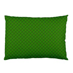 Paper Pattern Green Scrapbooking Pillow Case (two Sides)