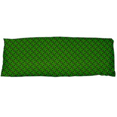 Paper Pattern Green Scrapbooking Body Pillow Case Dakimakura (two Sides)