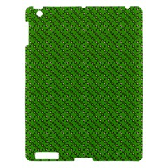 Paper Pattern Green Scrapbooking Apple Ipad 3/4 Hardshell Case