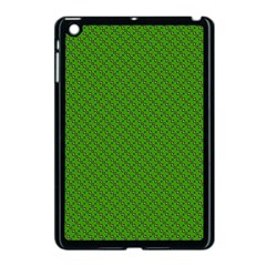 Paper Pattern Green Scrapbooking Apple Ipad Mini Case (black)