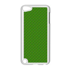 Paper Pattern Green Scrapbooking Apple Ipod Touch 5 Case (white)