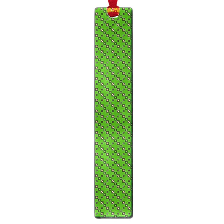 Paper Pattern Green Scrapbooking Large Book Marks