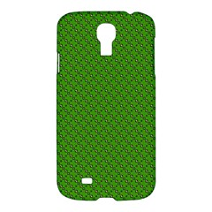 Paper Pattern Green Scrapbooking Samsung Galaxy S4 I9500/i9505 Hardshell Case by Nexatart