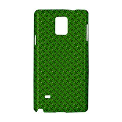 Paper Pattern Green Scrapbooking Samsung Galaxy Note 4 Hardshell Case