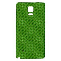 Paper Pattern Green Scrapbooking Galaxy Note 4 Back Case by Nexatart