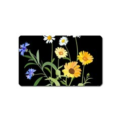 Flowers Of The Field Magnet (name Card)