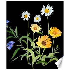 Flowers Of The Field Canvas 20  X 24   by Nexatart