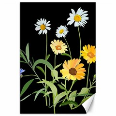 Flowers Of The Field Canvas 20  X 30   by Nexatart