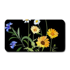 Flowers Of The Field Medium Bar Mats