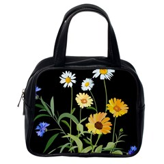 Flowers Of The Field Classic Handbags (one Side)