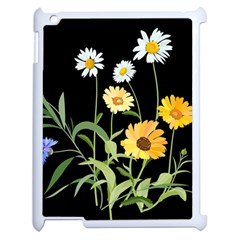 Flowers Of The Field Apple Ipad 2 Case (white) by Nexatart