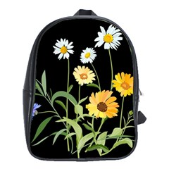 Flowers Of The Field School Bags (xl)