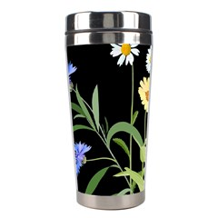 Flowers Of The Field Stainless Steel Travel Tumblers by Nexatart