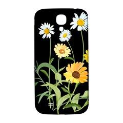 Flowers Of The Field Samsung Galaxy S4 I9500/i9505  Hardshell Back Case by Nexatart