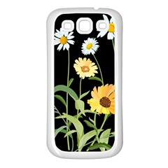 Flowers Of The Field Samsung Galaxy S3 Back Case (white)