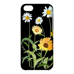 Flowers Of The Field Apple Iphone 5c Hardshell Case by Nexatart