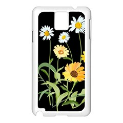 Flowers Of The Field Samsung Galaxy Note 3 N9005 Case (white)