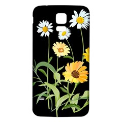 Flowers Of The Field Samsung Galaxy S5 Back Case (white)
