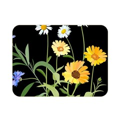 Flowers Of The Field Double Sided Flano Blanket (mini)  by Nexatart