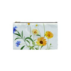 Flowers Flower Of The Field Cosmetic Bag (small)