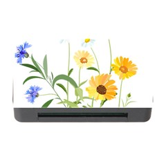 Flowers Flower Of The Field Memory Card Reader With Cf