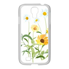 Flowers Flower Of The Field Samsung Galaxy S4 I9500/ I9505 Case (white) by Nexatart