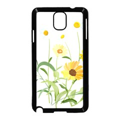 Flowers Flower Of The Field Samsung Galaxy Note 3 Neo Hardshell Case (black) by Nexatart
