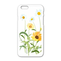Flowers Flower Of The Field Apple Iphone 6/6s White Enamel Case by Nexatart
