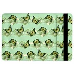 Green Butterflies Ipad Air 2 Flip by linceazul