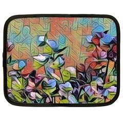 Spring Flowers Magic Cube Netbook Case (xl)  by DeneWestUK