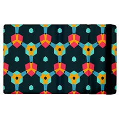 Connected shapes pattern    Kindle Fire (1st Gen) Flip Case by LalyLauraFLM