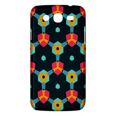 Connected Shapes Pattern    Samsung Galaxy Duos I8262 Hardshell Case by LalyLauraFLM