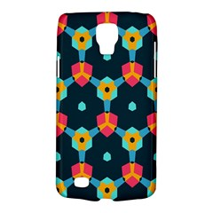 Connected Shapes Pattern    Samsung Galaxy Ace 3 S7272 Hardshell Case by LalyLauraFLM
