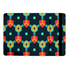 Connected Shapes Pattern    Samsung Galaxy Tab Pro 8 4  Flip Case by LalyLauraFLM