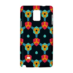 Connected Shapes Pattern    Apple Iphone 6 Plus/6s Plus Leather Folio Case by LalyLauraFLM
