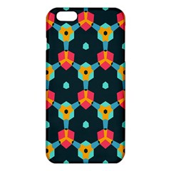 Connected Shapes Pattern    Iphone 6/6s Tpu Case by LalyLauraFLM