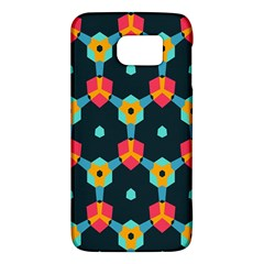 Connected shapes pattern    HTC One M9 Hardshell Case by LalyLauraFLM